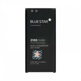 Батерия - Samsung Galaxy S5 Mini (G800F) 2100mAh Li-Ion BLUE STAR Premium