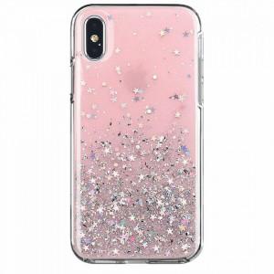 Блестящ гръб WOZINSKY Star - Samsung Galaxy A72/A72 5G розов