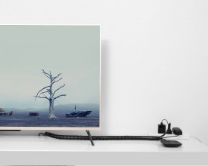 Гофрирана тръба / органайзър за кабели Ugreen 3m черен (30819)