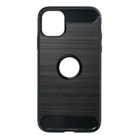 Гръб FORCELL Carbon - iPhone 11 2019 черен