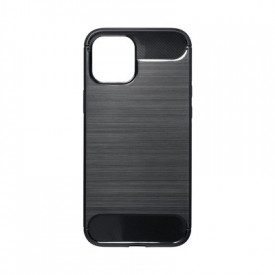 Гръб FORCELL Carbon - iPhone 12 Pro Max черен