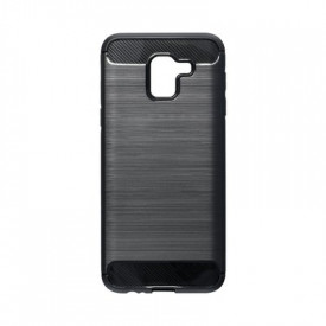 Гръб FORCELL Carbon - Samsung Galaxy J6 2018 черен