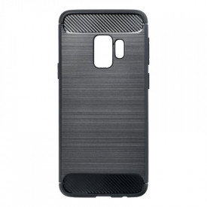 Гръб FORCELL Carbon - Samsung Galaxy S9 черен