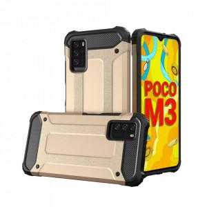 Гръб Hybrid Armor - Xiaomi Poco M3 / Xiaomi Redmi 9T златист