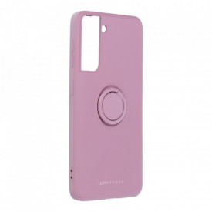 Гръб Roar Amber с държач - Samsung Galaxy S21 лилав