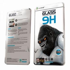 Закален стъклен протектор 9H с пълно покритие X-ONE Extra Strong - iPhone 12 Pro Max черен