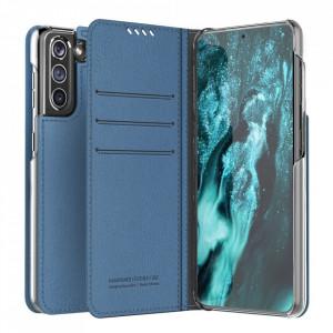 Калъф тип книга ARAREE Mustang Diary - Samsung Galaxy S21 Plus син