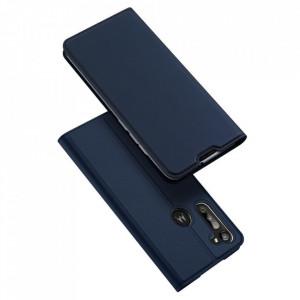 Калъф тип книга DUX DUCIS Skin Pro - Motorola Moto G8 Power син