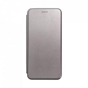 Калъф тип книга FORCELL Elegance - Samsung Galaxy A02s сив