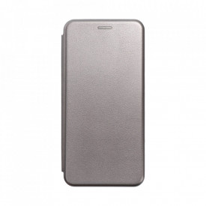 Калъф тип книга FORCELL Elegance - Samsung Galaxy S21 Plus сив