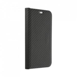 Калъф тип книга Luna Carbon - Motorola Moto G 5G Plus черен