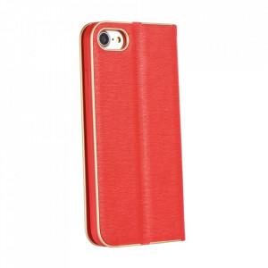 Калъф тип книга Luna - Samsung Galaxy A02s червен