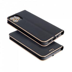 Калъф тип книга Luna - Samsung Galaxy A22 черен