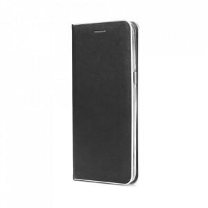 Калъф тип книга Luna Silver - Samsung Galaxy S21 Plus черен