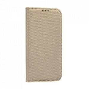 Калъф тип книга Smart - Huawei P Smart 2021 златист