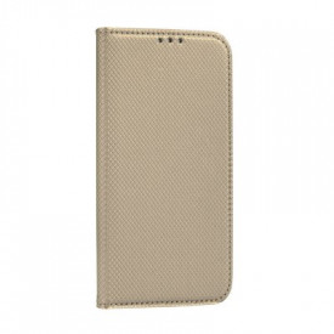Калъф тип книга Smart - LG K51S златист