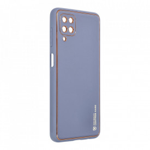 Кожен гръб Forcell LEATHER - Samsung Galaxy A22 4G син