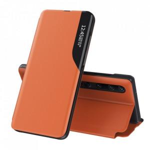Кожен калъф тип книга ECO - Xiaomi Mi 10 Pro / Xiaomi Mi 10 оранжев