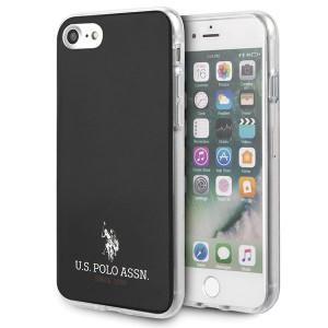 Оригинален гръб US Polo Gradient Pattern Collection USHCI8TPUBK - iPhone 7/8/SE 2020 черен