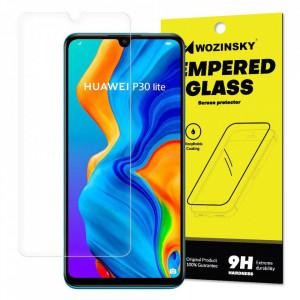 Плосък стъклен протектор 9H WOZINSKY - Huawei P30 Lite