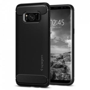 Релефен гръб Spigen Rugged Armor - Samsung Galaxy S8 черен