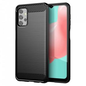 Силиконов гръб Carbon - Samsung Galaxy A32 5G черен