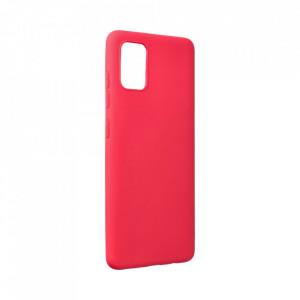 Силиконов гръб FORCELL Soft - Samsung Galaxy A52 5G / A52 LTE ( 4G ) червен