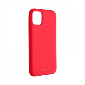 Силиконов гръб ROAR Colorful Jelly - iPhone 11 циклама