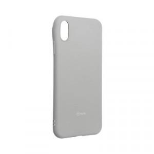 Силиконов гръб ROAR Colorful Jelly - iPhone XS Max сив
