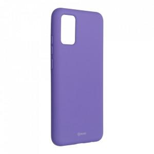 Силиконов гръб ROAR Colorful Jelly - Samsung Galaxy A02s лилав