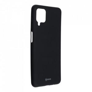 Силиконов гръб ROAR Colorful Jelly - Samsung Galaxy A12 черен