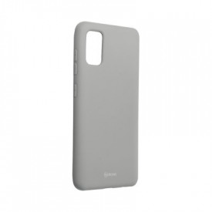 Силиконов гръб ROAR Colorful Jelly - Samsung Galaxy A41 сив