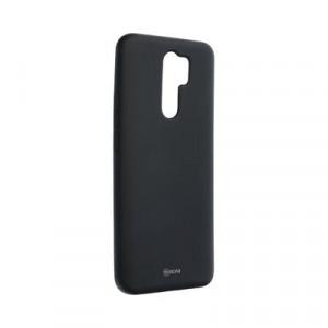 Силиконов гръб ROAR Colorful Jelly - Xiaomi Redmi 9 черен