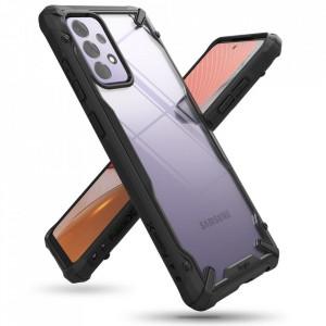 Твърд гръб Ringke Fusion X със силиконов бъмпер - Samsung Galaxy A72/A72 5G черен