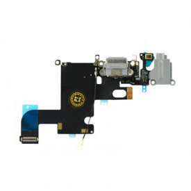 """- iPhone 6 4.7"""" Lightning Connector and Headphone Jack - space сив"""