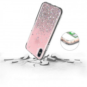Блестящ гръб WOZINSKY Star - iPhone XR зелен
