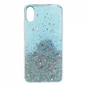 Блестящ гръб WOZINSKY Star - Samsung Galaxy A42 5G син