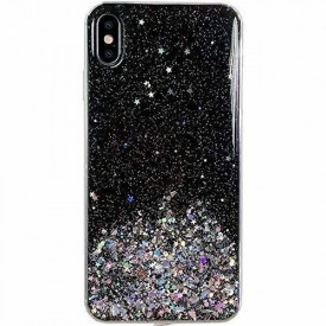 Блестящ гръб WOZINSKY Star - Samsung Galaxy A42 5G черен
