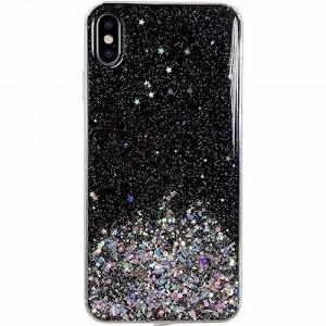 Блестящ гръб WOZINSKY Star - Samsung Galaxy M31s черен