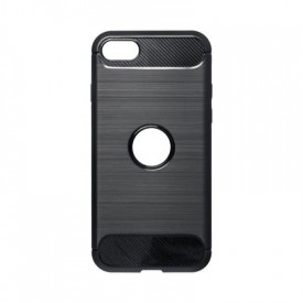 Гръб FORCELL Carbon - iPhone 7 / 8 / SE 2020 черен