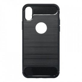 Гръб FORCELL Carbon - iPhone X черен
