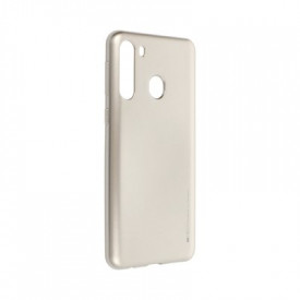 Гръб i-Jelly Mercury - Samsung Galaxy A21 златист