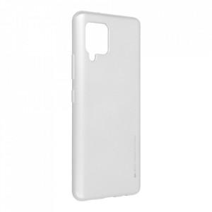 Гръб i-Jelly Mercury - Samsung Galaxy A42 5G сребрист