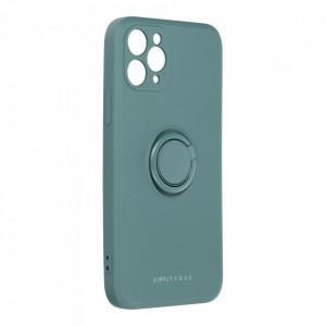 Гръб Roar Amber с държач - iPhone 11 Pro зелен