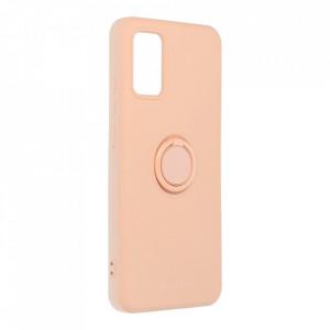 Гръб Roar Amber с държач - Samsung Galaxy A02s розов