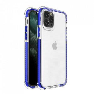 Гръб Spring Armor с цветна рамка - iPhone 11 Pro син