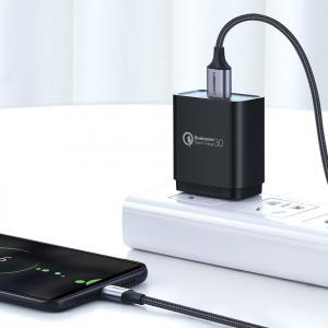 Кабел Ugreen USB / micro USB 2m сив(60148)