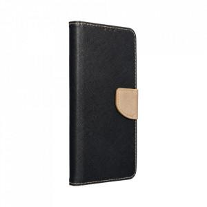 Калъф тип книга Fancy - Xiaomi Redmi Note 10 Pro/10 Pro Max черен / златист