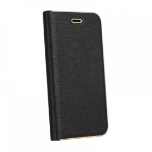 Калъф тип книга Luna - iPhone 7 Plus / 8 Plus черен