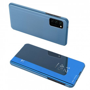 Огледален калъф тип книга Clear View - Samsung Galaxy A52 5G / A52 син